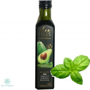 Smart Cooking Oleo Hass Aceite de Aguacate con sabor Albahaca 250ml 100% natural