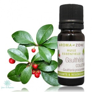 AZ Aceite Esencial de Gaultheria 10ml Puro Wintergreen oil