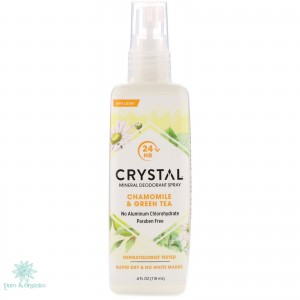 Crystal Essence Desodorante Con Manzanilla Y arbol Te 118ml Spray Bogota Colombia