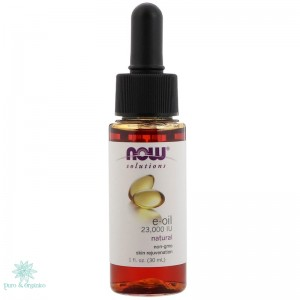 NOW Aceite De Vitamina E 30ml Puro E Oil Tocoferol
