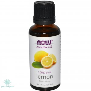 Limon Aceite Esencial Puro 30ml Now Foods Colombia Lemon