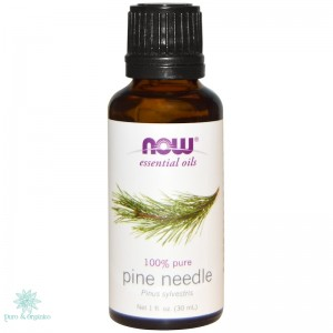 Now Aceite esencial de pino 30ml Abies SibricaPuro 100% pine needle
