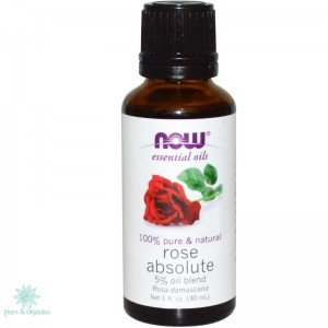 Now Foods Aceite Esencial De Rosa Absoluta 30ml Rose oil Bogota Colombia
