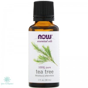Now Foods Aceite Esencial de Arbol de Te 30ml Puro 100% Tea tree oil puroyorganico Colombia