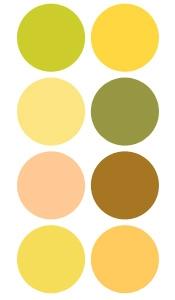 Tinte amarillo ocre de Provence Puro y Organico Colombia