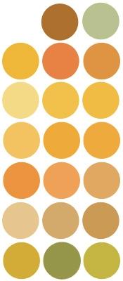 Tinte de óxido mineral amarillo Puro y Organico Colombia